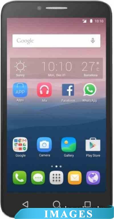 Alcatel One Touch POP 3 White Leather 5054D