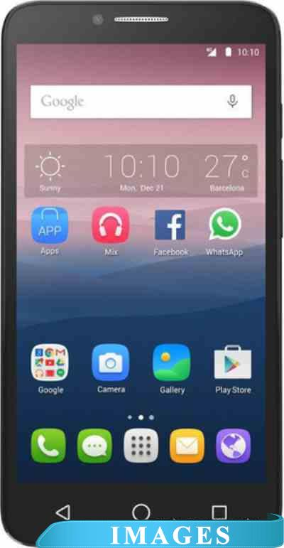Alcatel One Touch POP 3 Black Leather 5054D