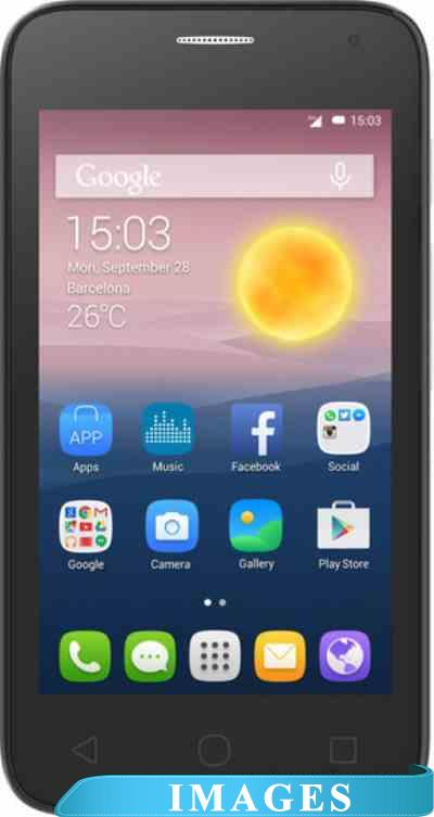 Alcatel One Touch PIXI First Silver 4024D