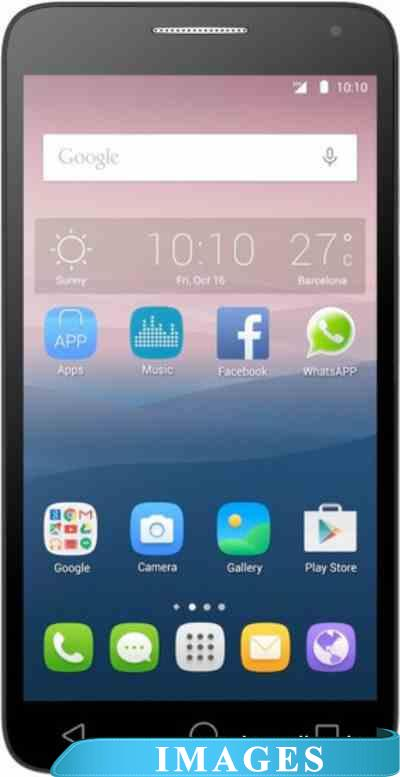 Alcatel One Touch POP 3 Black Leather 5025D
