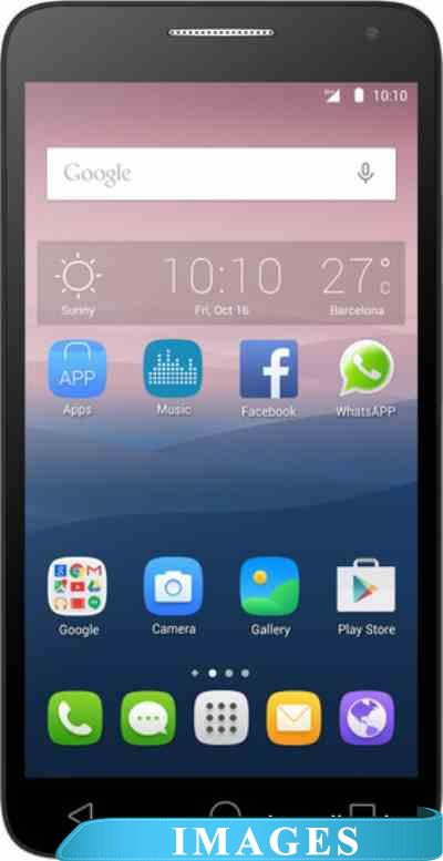 Alcatel One Touch POP 3 Silver 5025D