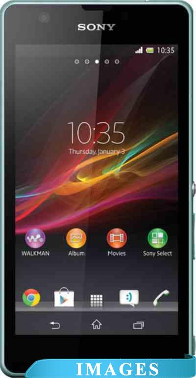 Sony Xperia ZR Mint