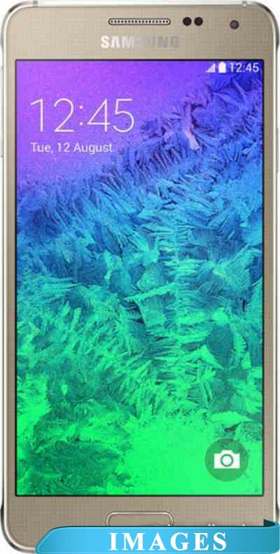 Samsung Galaxy Alpha Frosted Gold G850