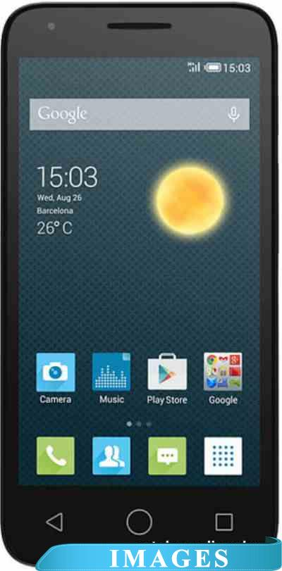 Alcatel OneTouch PIXI 3 (4.5) Metallic Silver 4027D