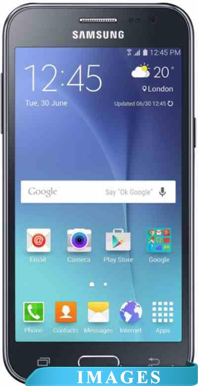 Samsung Galaxy J2 Black J200H/DS