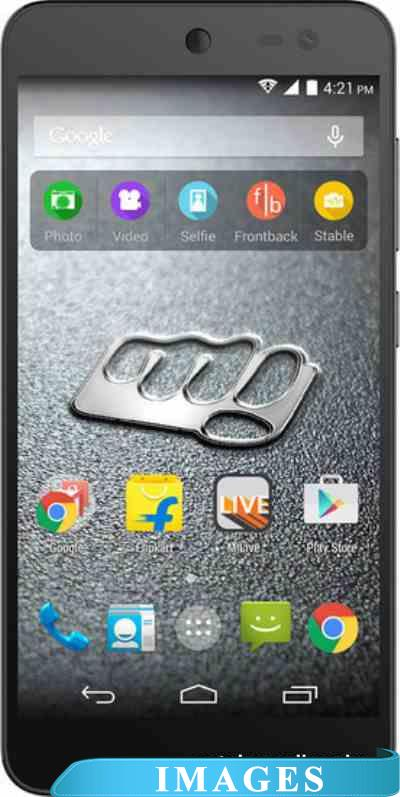 Micromax Canvas Xpress 2 Black Shampagne E313