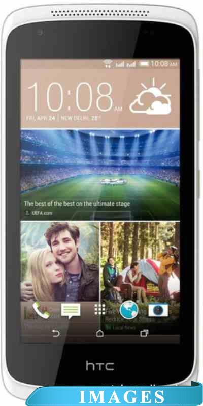HTC Desire 326G dual sim White Birch