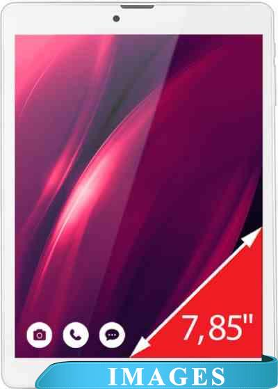 Ginzzu GT-7810 White 8GB 3G