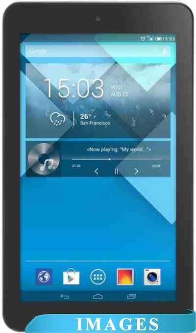 Alcatel OneTouch Pop 7 4GB 3G Black (P310X)