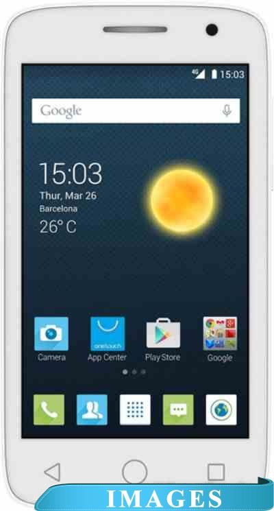 Alcatel One Touch POP 2 (4) White 4045D