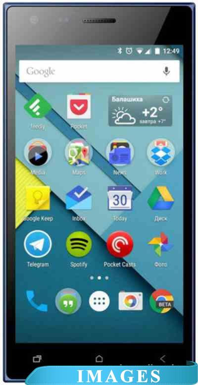 Micromax Canvas Xpress 4G Blue Q413