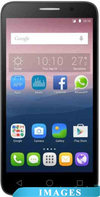Alcatel One Touch POP 3 Silver 5065D