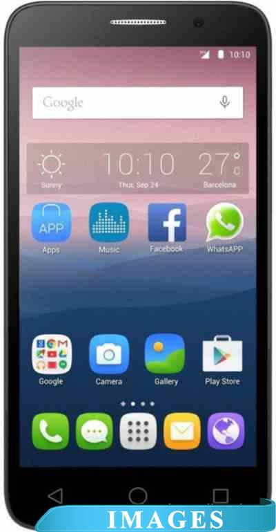 Alcatel One Touch POP 3 Black Leather 5065D