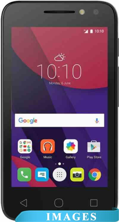 Alcatel One Touch Pixi 4 Black 4034D