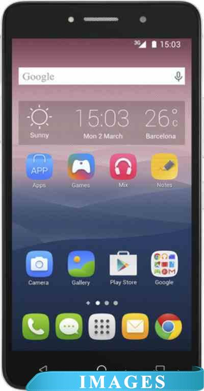 Alcatel One Touch Pixi 4(6) Silver 8050D