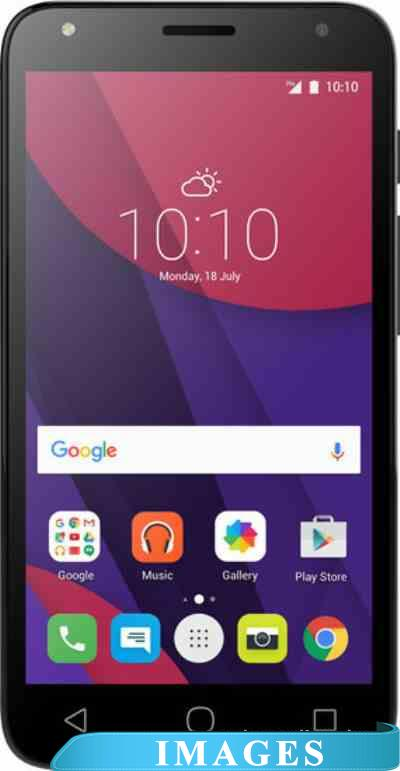 Alcatel One Touch Pixi 4(5) Volcano Black 5010D