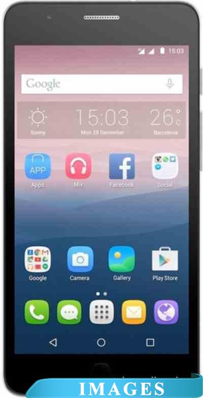 Alcatel One Touch Pop Up Black 6044D