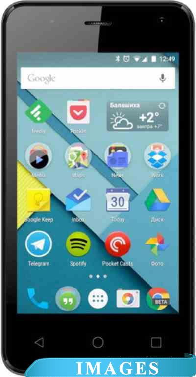 Micromax Canvas Pace mini Black Q401