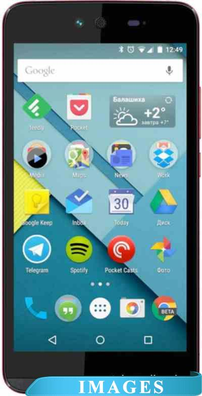 Micromax Canvas Magnus 2 Red Q338
